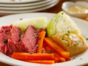 Corned Beef & Cabbage, a blend of two migrant cultures